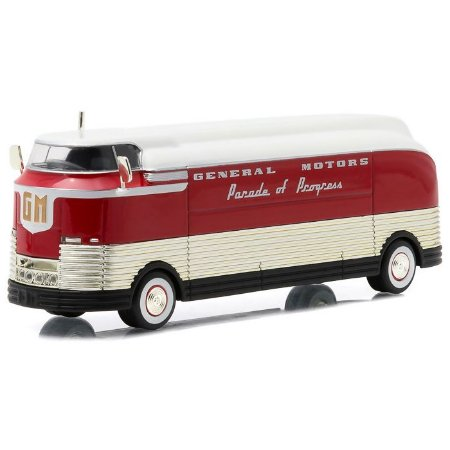 Ônibus General Motors F Parade of Progress 1940 1/64 Greenlight