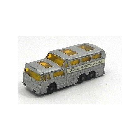 Ônibus Coach Greyhound N°66 1/64 Matchbox