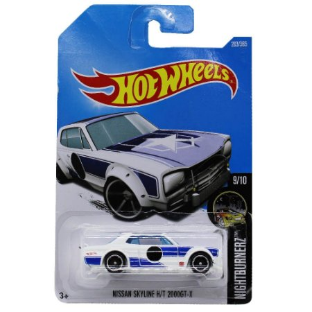 Nissan Skyline H/T 2000GT-X 1/64 Hot Wheels
