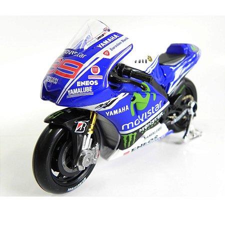 Moto Yamaha Racing Jorge Lorenzo Moto Gp 2014 1/18 Maisto