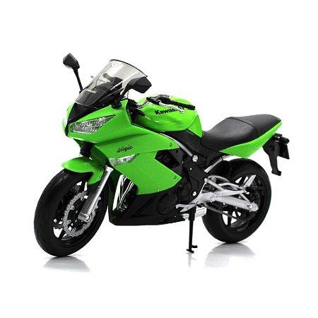 Moto Kawasaki Ninja 650R 1/10 Welly