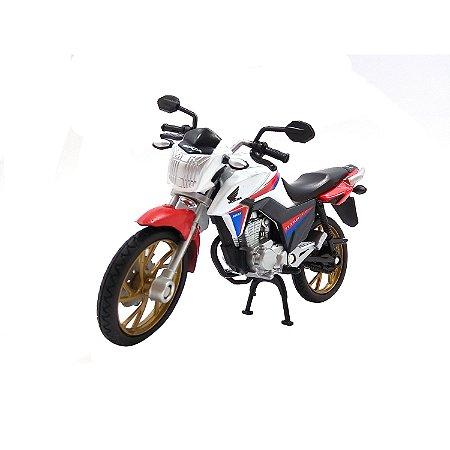 Moto Honda CG 160 Titan 40 Anos 1/18 Duas Rodas