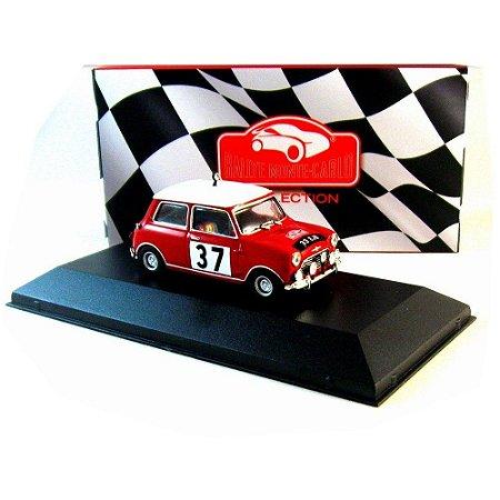 Mini Cooper Hopkirk H. Liddon 1964 Rally Monte Carlo 1/43 Atlas