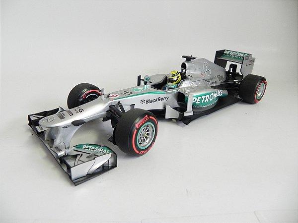 Mercedes-Benz A Petronas F1 Nico Rosberg GP 2013 1/18 Minichamps