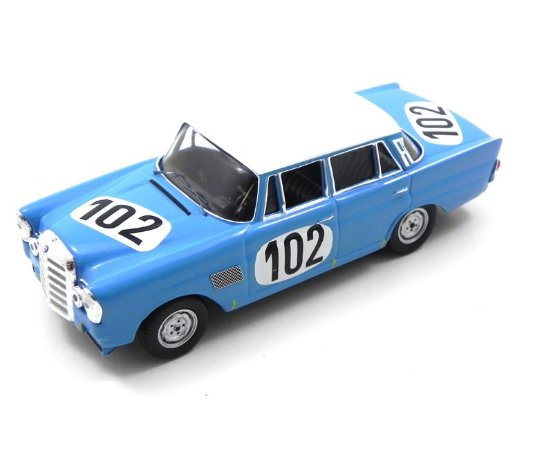 Mercedes-Benz 300Se 1964 Crevits - Gosselin  24Th Spa 1/43 Ixo