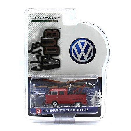 Volkswagen Kombi Type 2 Cabine Dupla 1976 1/64 Greenlight