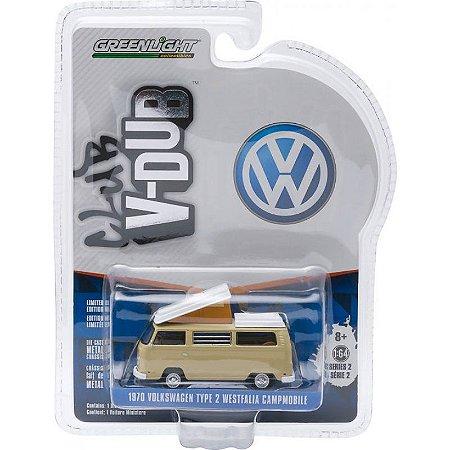 Volkswagen Kombi T 2 Westfalia C Club V-DUB 1970 1/64 Greenlight