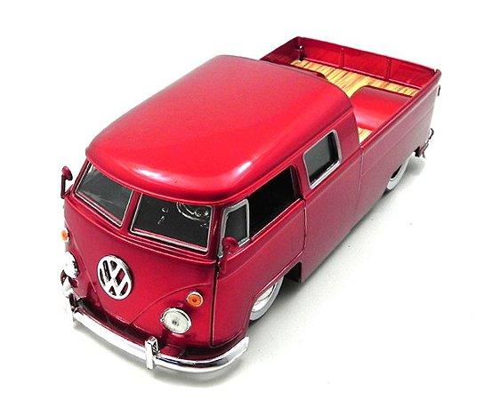 Volkswagen Kombi Pick Up Vermelho 1963 1/24 Jada Toys