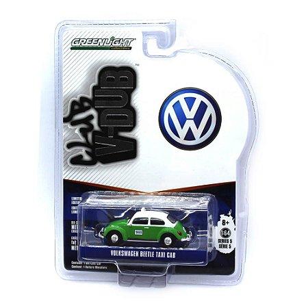 Volkswagen Fusca Taxi V-Dub Club Serie 5 1/64 Greenlight
