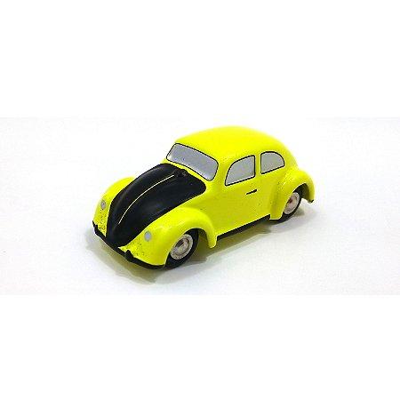 Volkswagen Fusca Käfer Gelb Schwarzer R P Limited Ed 1/87 Schuco
