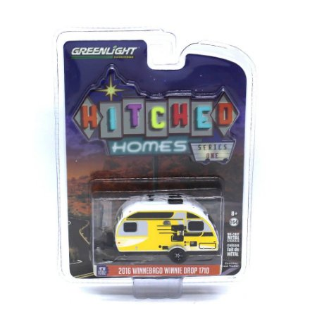 Trailer Winnebago Winnie Drop 1710 2016 1/64 Greenlight