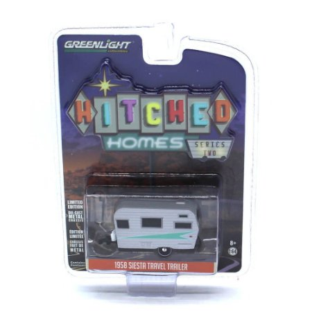 Trailer Siesta Travel Trailer 1958 1/64 Greenlight