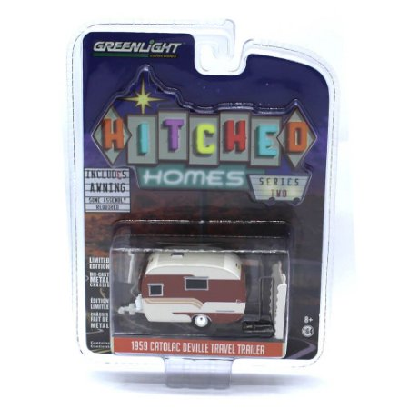 Trailer Catolac Deville Travel 1959 1/64 Greenlight