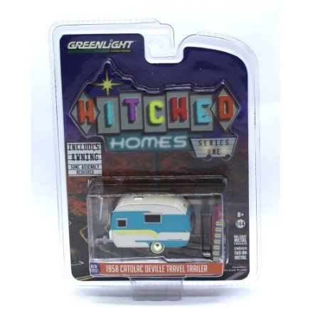 Trailer Catolac Deville Travel 1958 1/64 Greenlight