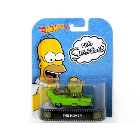 The Homer Os Simpsons 1/64 Hot Wheels