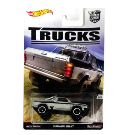 Subaru Brat 1/64 Hot Wheels Trucks