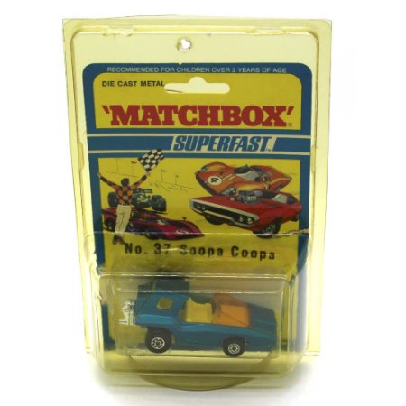 Soopa Coopa Superfast N 37 1971 1/64 Matchbox