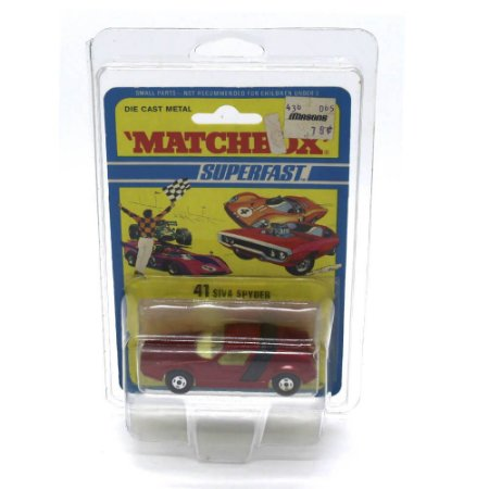 Siva Spyder Superfast N 41 1972 1/64 Matchbox