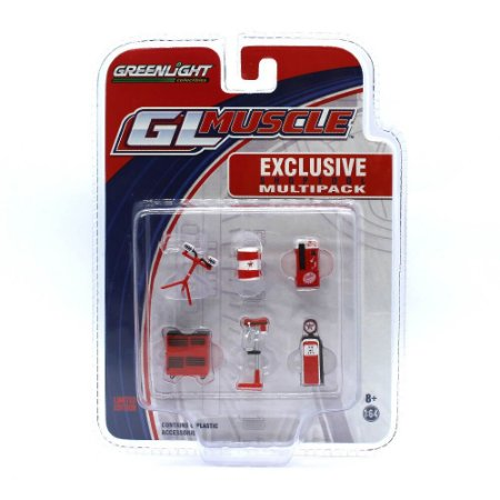 Shop Tools Multipack Texaco GL Muscle 1/64 Greenlight