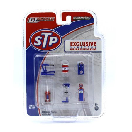 Shop Tools Multipack STP GL Muscle 1/64 Greenlight