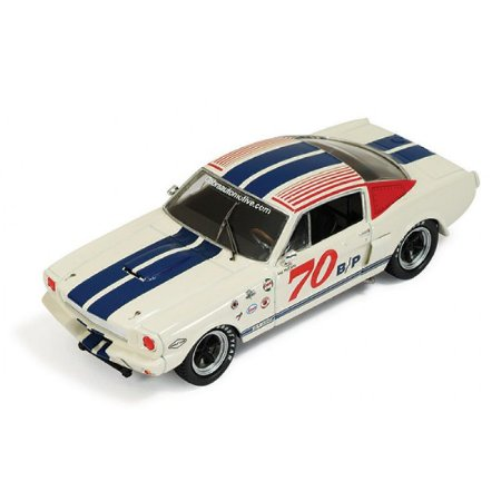 Shelby Gt350 #70 Vscca Racing Car 1966 1/43 Ixo