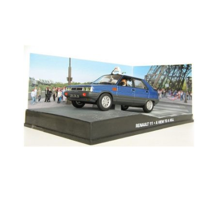 Renault 11 1/43 IXO –  007 James Bond  Na mira dos assassinos