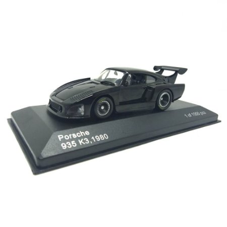 Porsche 935 K3 1980 Preto 1/43 Whitebox