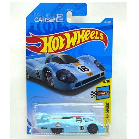 Porsche 917 LH Gulf Project Cars 2 1/64 Hot Wheels