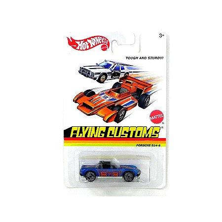 Porsche 914-6 Flying Customs 1/64 Hot Wheels