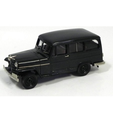 Willys Overland Station Wagon 4WD 1953 1/43 Brooklin Models