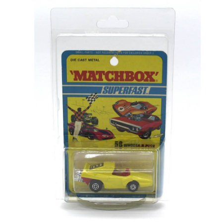 Whoosh N Push Superfast 58 1971 1/64 Matchbox