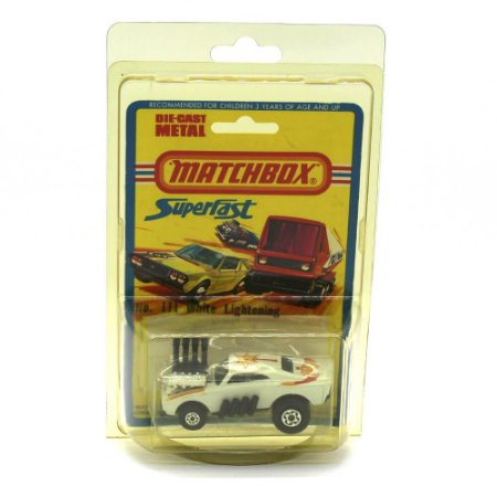 White Lightening Superfast N III 1972 1/64 Matchbox