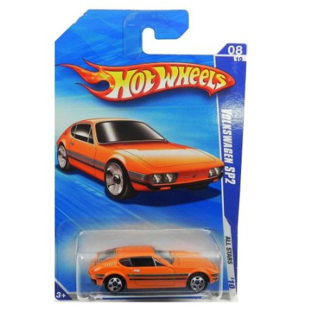 Volkswagen SP2 Laranja 1/64 Hot Wheels All Stars 2010