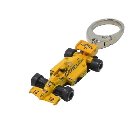 Chaveiro Ayrton Senna Lotus Califórnia Toys 1/87 Premium