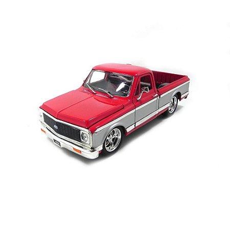 Chevrolet Cheyenne 1972 Vermelho 1/24 Jada Toys