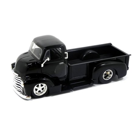 Chevrolet Coe Pickup 1952 Preto 1/24 Jada Toys Just Trucks