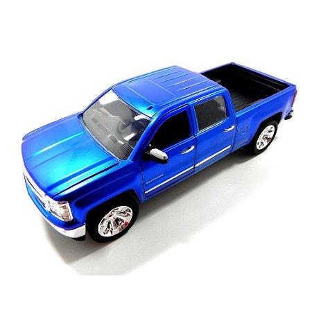 Chevrolet Silverado 2014 Azul 1/24 Jada Toys