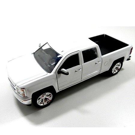 Chevrolet Silverado 2014 Branco 1/24 Jada Toys