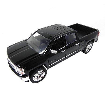 Chevrolet Silverado 2014 Preto 1/24 Jada Toys