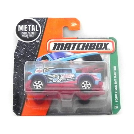 Ford F-150 Svt Raptor 1/64 Matchbox Matchdmg93-Cd10