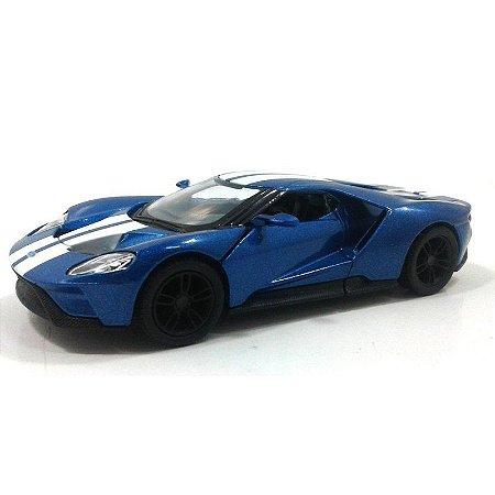 Ford GT 2017 Azul 1/38 Kinsmart