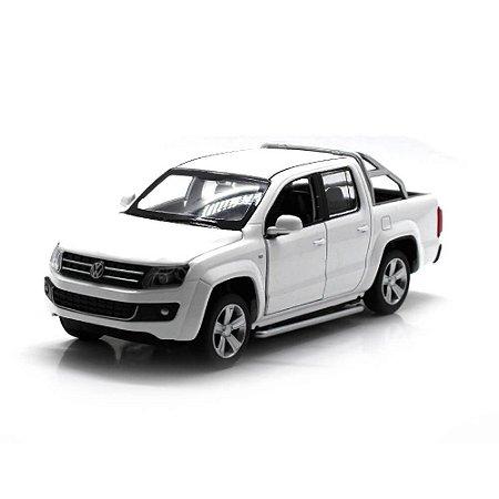 Volkswagen Amarok Branca Com Luz Som Fricção 1/32 California