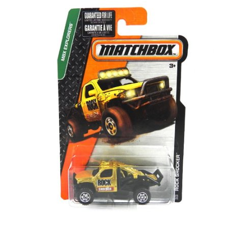 Rock Shooker MBX Explorers 1/64 Matchbox