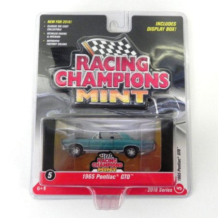 Pontiac 1965 GTO 1/64 Johnny Lightning Racing Champions Mint Release1 RC001