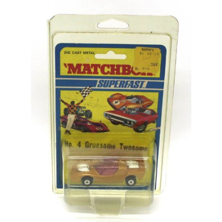 Gruesome Twosome Superfast 4 1971 1/64 Matchbox