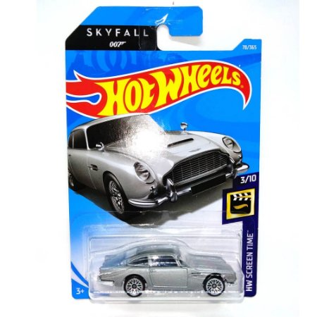 Aston Martin DB5 1963 Skyfall  007 James Bond  1/64 Hot Wheels