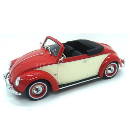 Volkswagen Fusca 1200 Cabriolet Hebmueller 1949 1/18 KK Scale Models