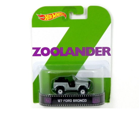 Ford Bronco 1967 Zoolander 1/64 Hot Wheels