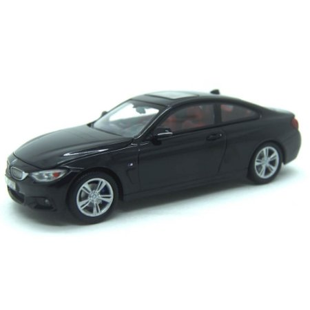 BMW 4 Series 435I Coupe F36 2014 Preto 1/43 Paragon