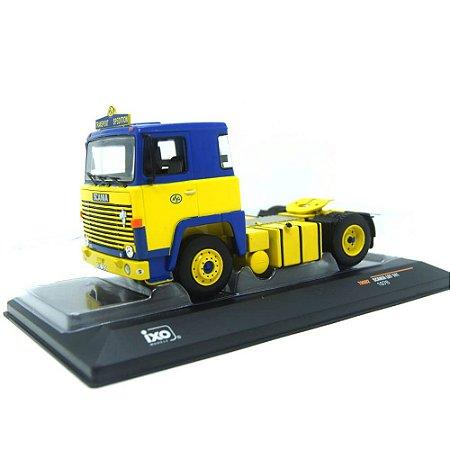 Caminhão Scania LBT 141 Tractor ASC Transport 1976 1/43 Ixo